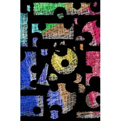 Colorful puzzle 5.5  x 8.5  Notebooks