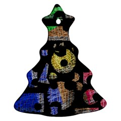 Colorful puzzle Ornament (Christmas Tree)