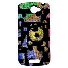 Colorful puzzle HTC One S Hardshell Case