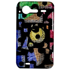 Colorful puzzle HTC Incredible S Hardshell Case