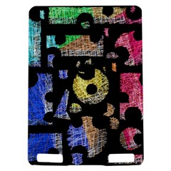 Colorful puzzle Kindle Touch 3G