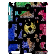 Colorful puzzle Apple iPad 2 Hardshell Case (Compatible with Smart Cover)
