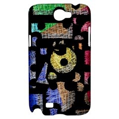 Colorful puzzle Samsung Galaxy Note 2 Hardshell Case