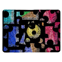 Colorful puzzle Kindle Fire (1st Gen) Flip Case