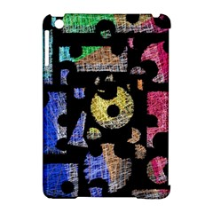 Colorful puzzle Apple iPad Mini Hardshell Case (Compatible with Smart Cover)