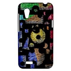 Colorful puzzle HTC Desire VT (T328T) Hardshell Case