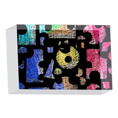 Colorful puzzle 4 x 6  Acrylic Photo Blocks