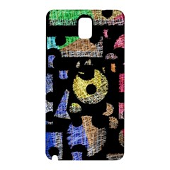 Colorful puzzle Samsung Galaxy Note 3 N9005 Hardshell Back Case