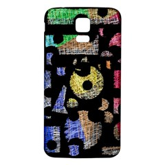 Colorful puzzle Samsung Galaxy S5 Back Case (White)