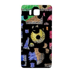 Colorful puzzle Samsung Galaxy Alpha Hardshell Back Case