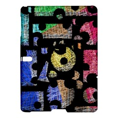 Colorful puzzle Samsung Galaxy Tab S (10.5 ) Hardshell Case