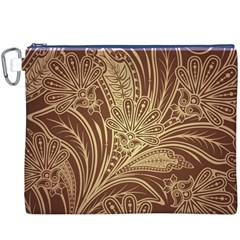 Beautiful Patterns Vector Canvas Cosmetic Bag (XXXL)