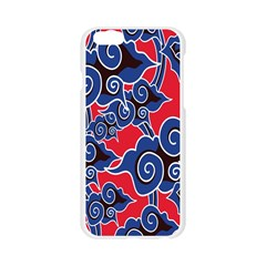 Batik Background Vector Apple Seamless iPhone 6/6S Case (Transparent)