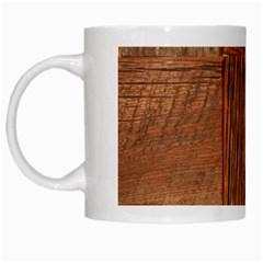 Barnwood Unfinished White Mugs
