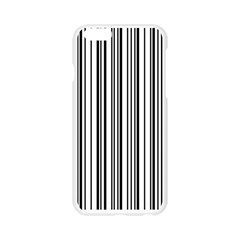 Barcode Pattern Apple Seamless iPhone 6/6S Case (Transparent)