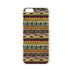 Aztec Pattern Ethnic Apple Seamless iPhone 6/6S Case (Transparent)