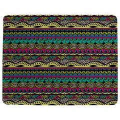 Aztec Pattern Cool Colors Jigsaw Puzzle Photo Stand (Rectangular)