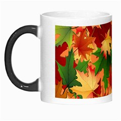 Autumn Leaves Morph Mugs
