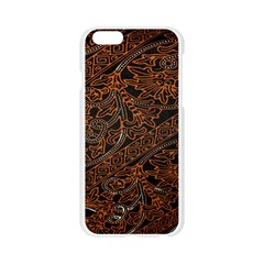 Art Traditional Indonesian Batik Pattern Apple Seamless iPhone 6/6S Case (Transparent)