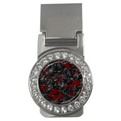 Gray and red decorative art Money Clips (CZ)
