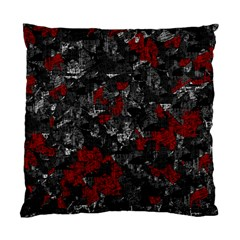 Gray and red decorative art Standard Cushion Case (Two Sides)
