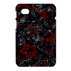 Gray and red decorative art Samsung Galaxy Tab 7  P1000 Hardshell Case