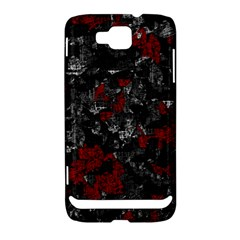 Gray and red decorative art Samsung Ativ S i8750 Hardshell Case