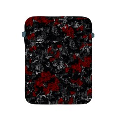 Gray and red decorative art Apple iPad 2/3/4 Protective Soft Cases
