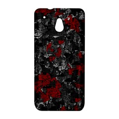 Gray and red decorative art HTC One Mini (601e) M4 Hardshell Case