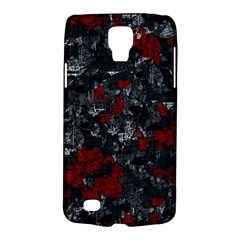 Gray and red decorative art Galaxy S4 Active