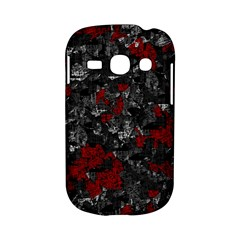 Gray and red decorative art Samsung Galaxy S6810 Hardshell Case