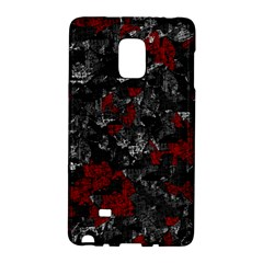 Gray and red decorative art Galaxy Note Edge