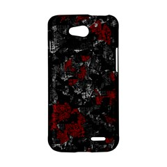 Gray and red decorative art LG L90 D410