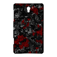 Gray and red decorative art Samsung Galaxy Tab S (8.4 ) Hardshell Case