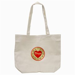 Astrology Junction Virgo Tote Bag (Cream)