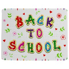 Back To School Jigsaw Puzzle Photo Stand (Rectangular)