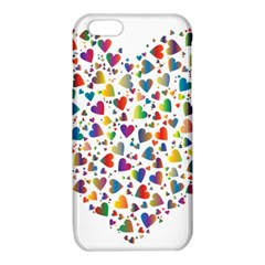 Chaotic Colorful Heart Fractal iPhone 6/6S TPU Case