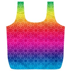Rainbow Rings Reusable Bag (XL)