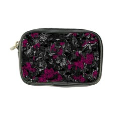 Magenta and gray decorative art Coin Purse