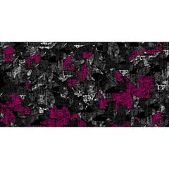 Magenta and gray decorative art YOU ARE INVITED 3D Greeting Card (8x4)