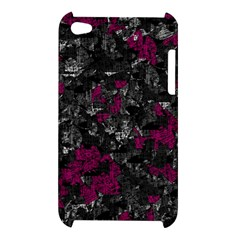 Magenta and gray decorative art Apple iPod Touch 4