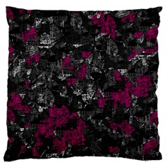 Magenta and gray decorative art Large Cushion Case (One Side)