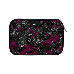 Magenta and gray decorative art Apple iPad Mini Zipper Cases