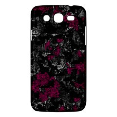 Magenta and gray decorative art Samsung Galaxy Mega 5.8 I9152 Hardshell Case