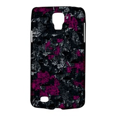 Magenta and gray decorative art Galaxy S4 Active