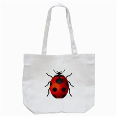 Ladybug Insects Tote Bag (White)