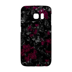 Magenta and gray decorative art Galaxy S6 Edge