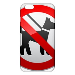 No Dogs Sign Prohibition Clipart iPhone 6 Plus/6S Plus TPU Case