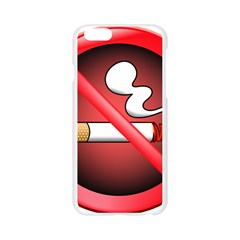 No Smoking Prohibition Sign Clipart Apple Seamless iPhone 6/6S Case (Transparent)