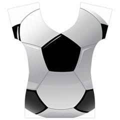 Soccer Ball Women s V-Neck Cap Sleeve Top